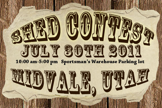 Shed contest Midvale Utah